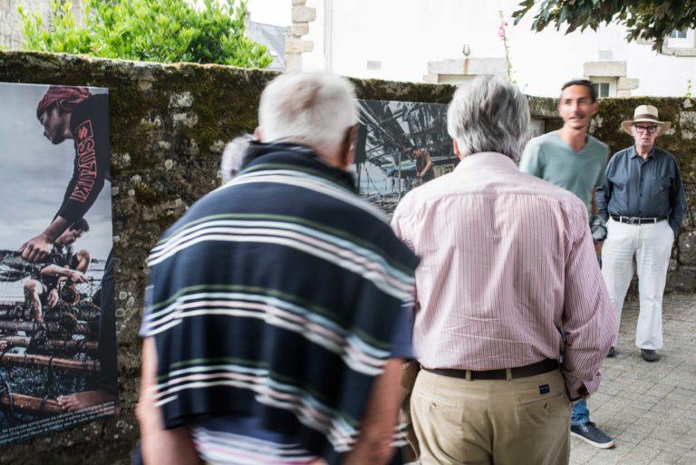 visite guidée du festival photo en Bretagne