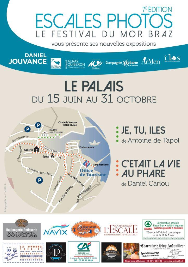 Circuit des expos photos à Le Palais Belle Île-en-Mer 56