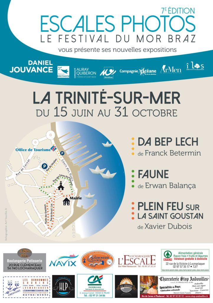 Parcours des expositions photos à La Trinité-sur-Mer 56