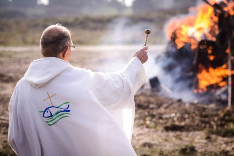 Festival photos Hoëdic Plein feu sur la St Goustan