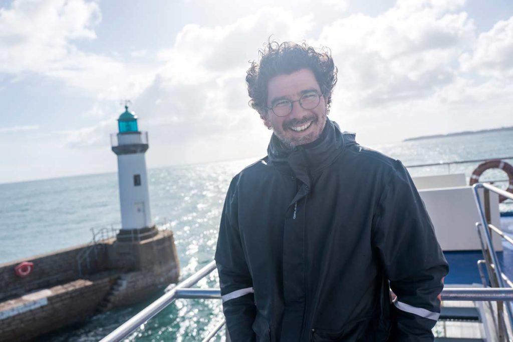le photographe Xavier Dubois également co-fondateur du festival Escales Photos