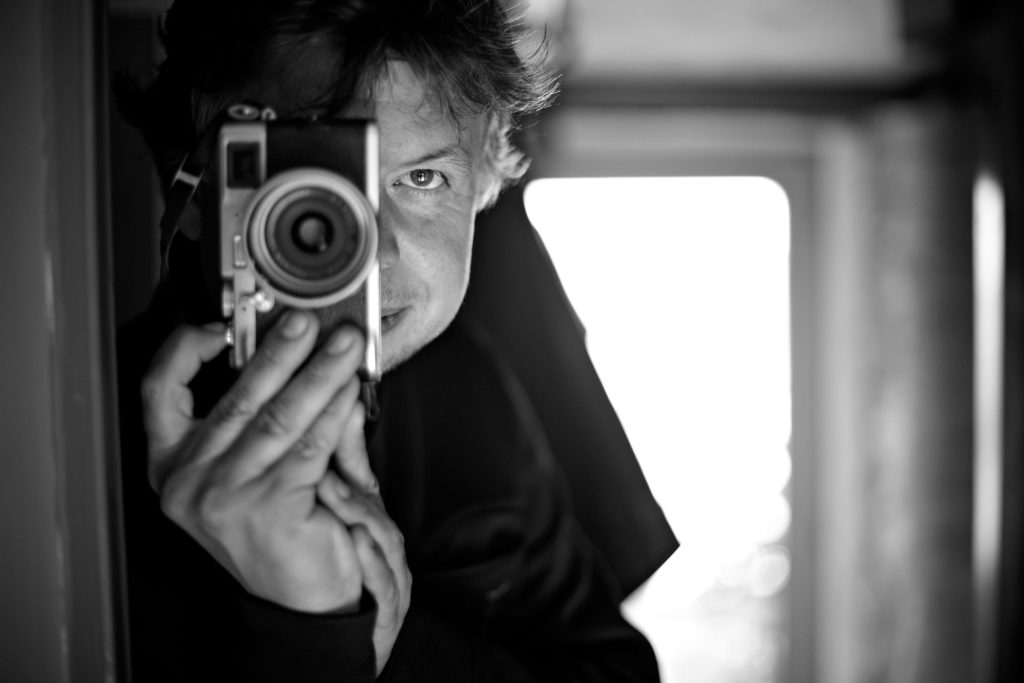 Le photographe Franck Betermin