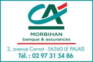 Logo du Crédit Agricole du Morbihan partenaire d'Escales Photos